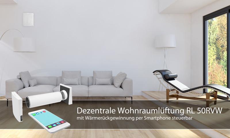 rl 50rvw dezentrale wohnrauml ftung mit. Black Bedroom Furniture Sets. Home Design Ideas