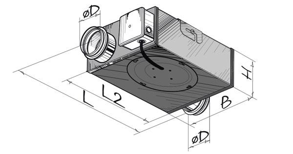 RL Abluftbox-Kit