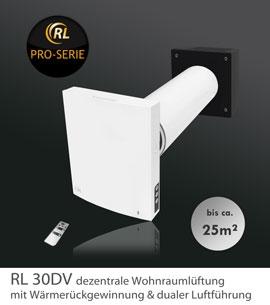 RL 30DV- Wohnraumlüftung